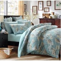 60支纯棉全棉床单四件套埃及长绒棉高支高密床上用品四件套