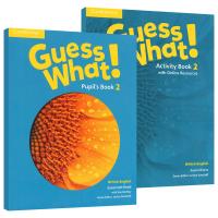 剑桥少儿英语教材2级别 Guess What Level 2 Pupil's Book 英文原版 学生套装小学二年级主课