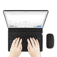 20190617203617482华为m5平板电脑无线蓝牙键盘保护套10.8英寸Pro轻薄全包防摔键盘皮套鼠标套装