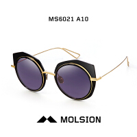 陌森2017新款明星款墨镜男女款 个性复古时尚太阳眼镜潮MS6021