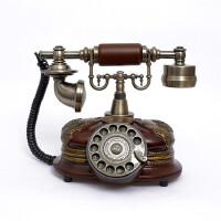 至臻仿古电话机 转盘 欧式复古老式古董电话机 家用办公礼品106S