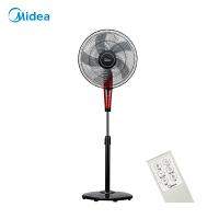 【苏宁易购】美的电风扇FS40-13ER遥控智能预约静音家用电扇摇头台式落地扇