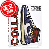 现货 运动鞋X文化:合作 精装 英文原版 潮流时尚品牌 Sneakers x Culture: Collab 阿迪达斯