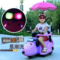 1-3-6岁男女宝宝可坐人玩具车儿童电动摩托车三轮车小孩充电童车