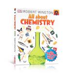 进口英文原版正版 All About Chemistry 十万个化学为什么 少儿百科全书 儿童趣味科普读物 有关于化学