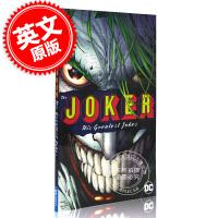 现货 小丑:他和他伟大的故事 英文原版 The Joker: His Greatest Jokes 小丑蝙蝠侠 漫画