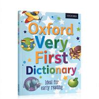 牛津儿童启蒙图画图解辞典Oxford Very First Dictionary 英英字词典 4-5-8岁儿童认知字典