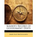 【预订】Kimber's Record of Government Debts