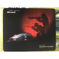 微软 (Micosoft)鼠标垫 sidewinder 布面游戏鼠标垫 丝滑表面 图案精美 原装行货