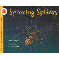Spinning Spiders (Let's Read and Find Out) 自然科学启蒙2:织网的蜘蛛ISB