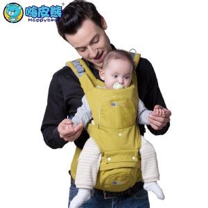 高品质多功能纯棉透气宝宝腰凳婴儿背带腰凳儿童坐凳背带 1501