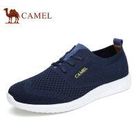 camel 骆驼男鞋夏季新品飞织网布鞋时尚休闲健步鞋