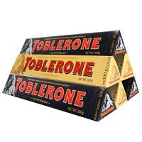 Toblerone瑞士三角 亿滋进口 牛奶+黑巧克力100g*6条两种口味组合装 瑞士进口 休闲零食