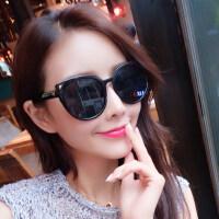 墨镜女潮 眼镜时尚太阳镜女士圆脸复古眼镜 支持礼品卡支付