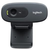 【支持礼品卡】罗技(Logitech)C270 高清网络摄像头 720P高清视频 使用便捷 电脑电视视频摄像头教学上课