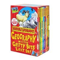 Scholastic 学乐 可怕的系列 Horrible Geography 可怕的地理 课外阅读素材 趣味儿童章节书