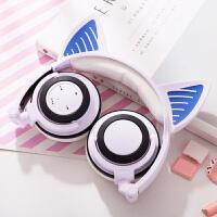 耳朵无线蓝牙耳机头戴式男女手机通用有线带耳麦重低音