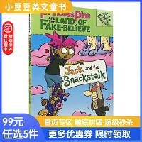 进口英文原版Jack and the Snackstal红公主和不可相信国#4:杰克与零食树桩