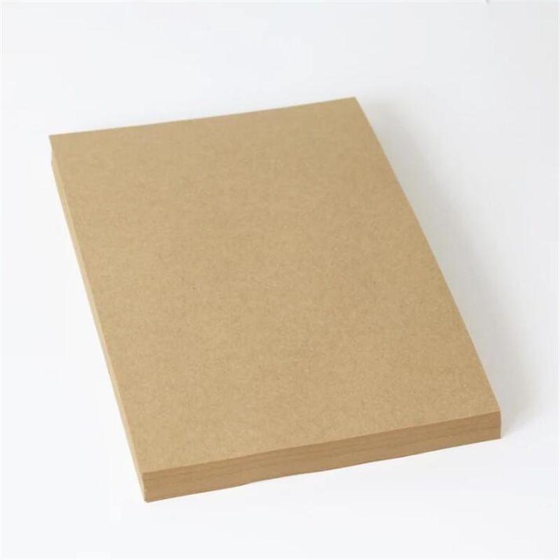 A3牛皮卡纸 打印纸 包装纸 牛皮纸A4 素描绘画 CD封套纸 50张100张 80g100g120g150g180g250g