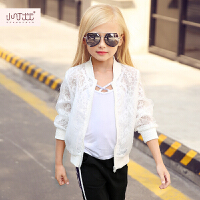 儿童防晒衣服2017夏装新款薄款女宝宝夏季皮肤衣空调女童开衫外套