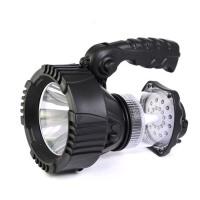 户外强光手电筒露营灯探照灯应急多功能LED帐篷锂电5W防雨水