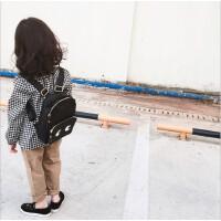 韩版儿童可爱眼睛小书包双肩包 男童女童时尚拉链背包宝宝休闲包