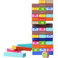 【当当自营】费雪Fisher Price 早教益智 动物彩色层层叠木制玩具FP1017A