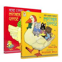 【全店300减100】英文原版 My Very First Mother Goose 2册 鹅妈妈童谣点读版 廖彩杏书单