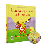 Usborne Cow Takes A Bow And Other Tales 鞠躬的牛和其他故事 自然拼读故事绘本