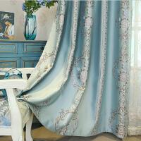 窗帘【支持礼品卡】静欣家居欧式窗帘高精密色织提花窗帘布料客厅卧室定制