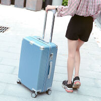 行李箱男拉杆密码箱女韩版小清新旅行箱潮个性大学生登机箱子20寸