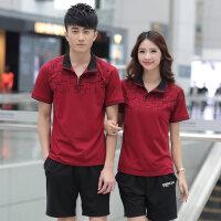 男士运动套装情侣运动服女士休闲短裤短袖跑步两件套
