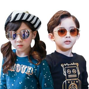 KK树新款儿童眼镜墨镜潮男女童太阳镜宝宝太阳镜个性舒适防紫外线
