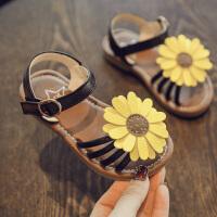 2018夏季新款小雏菊女童凉鞋1-3岁小童宝宝公主鞋沙滩鞋儿童鞋子