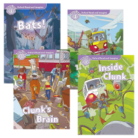送音频 牛津阅读与想象4级别4册 英文原版 Oxford Read and Imagine 4小学少儿英语分级阅读绘本