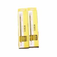 晨光30803书写6角形HB铅笔黄杆铅笔12支装