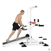 双杠走步机引体向上俯卧撑多用途走步机可折叠机械跑步机静音多功能健身器材减肥