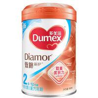 多美滋(Dumex)致粹较大婴儿配方乳奶粉2段(6-12个月)900克