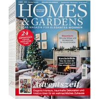 德国 HOMES & GARDENS 杂志 订阅2021年 E72 别墅住宅庭院室内软装设计