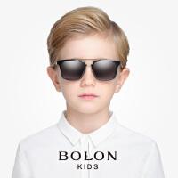 暴龙男款2016新款太阳镜儿童款 时尚酷炫方框墨镜儿童镜BK6003