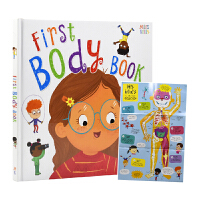 First Body Book 我的身体图画书 幼儿身体认知书英语 全彩插图 儿童百科 英文原版图书