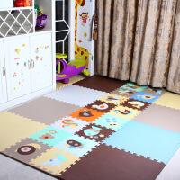 儿童纯色62*62加大加厚拼接爬行垫环保拼图地垫卧室爬爬垫
