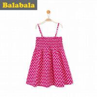 巴拉巴拉 童装公主裙女童裙子女孩 2017夏装新款小童儿童连衣裙女