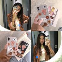 chic韩风可爱卡通猪猪xs max苹果8plus手机壳iphone6s/7/x/xr防摔 i6/6s 透明水果猪