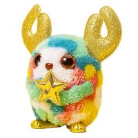 绒豆豆毛绒玩具diy手工创意拼豆立体娃娃女生萌宠玩偶新年礼物