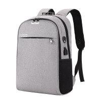联想充电防盗背包15寸男女14笔记本电脑双肩包15.6商务旅行书包