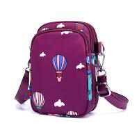 女士小包包迷你牛津手机包多功能单肩包女帆布斜挎包休闲腰包背包