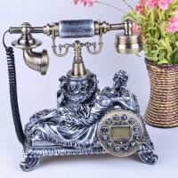 至臻来电显示仿古家用座机电话欧式复古时尚创意古董电话机礼品