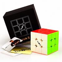 奇艺魔方格 valk3 麦神三阶魔方 顺滑比赛魔方附秘籍 XMD魔方三阶益智玩具