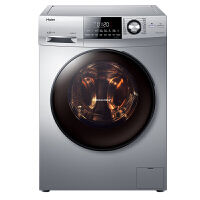 Haier/海尔 9公斤滚筒洗衣机 洗烘一体 下排水 变频直驱电机EG9014HBDX59SU1